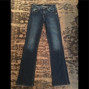 Silver Jeans Co. Avery Slim Boot W26/31L EUC